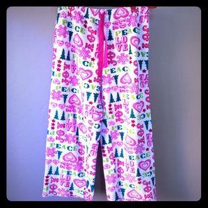 Super soft and comfy holiday pajama pants!